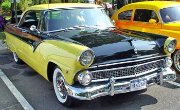 The Classic Ford facts about Classic 1955 Ford ID Numbers
